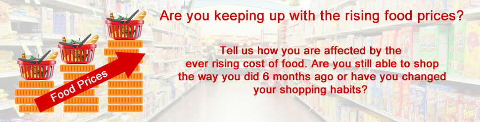 Poll: Rising food costs